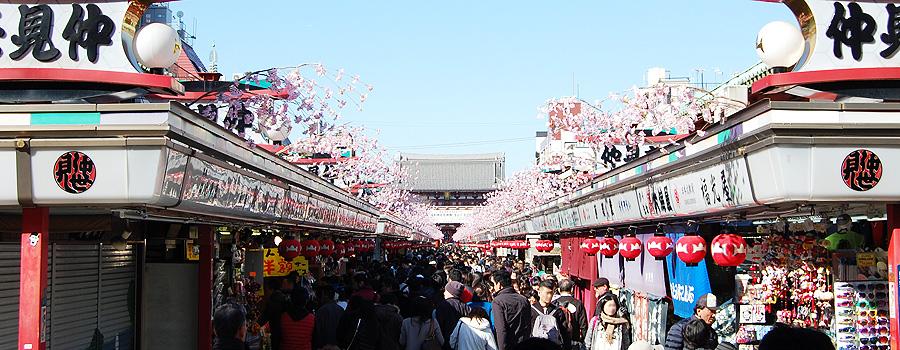 SENSOU Temple, Asakusa, Tokyo